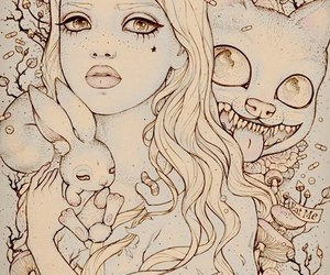 alice in wonderland and alice image