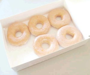 sweet, donuts, and pastel image
