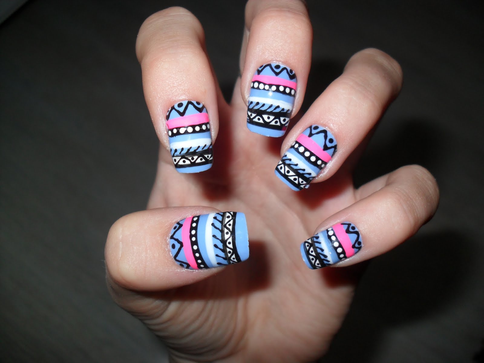 Aztec Nails Google Suche Uploaded By Am