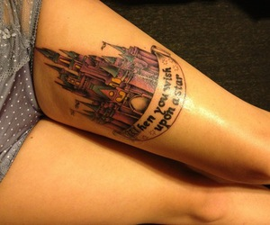 castle and tattoo image