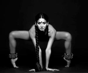 dance, yoga, and dança image