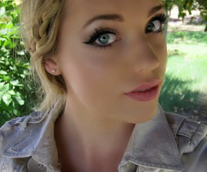 blonde, blue eyes, and darcy image