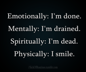 quotes, smile, and dead image