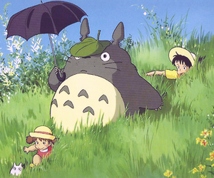 totoro, anime, and My Neighbor Totoro image
