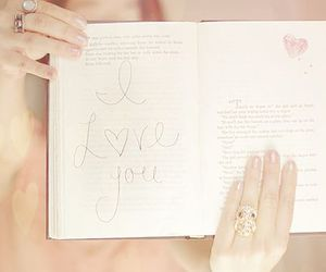 love, book, and I Love You image