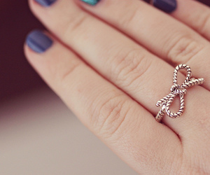ring, nails, and bow image