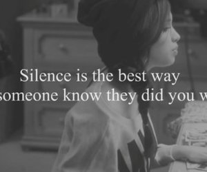 Relationship Quotes Silence Chalknotcom On We Heart It