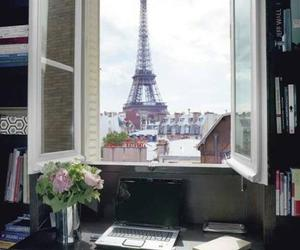paris, france, and window image