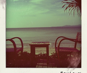 beach, chill, and poladroid image