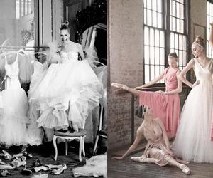 girl, ballet, and black image