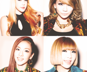 21, 2ne1, and blonde image