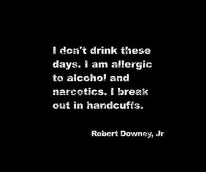 quote, funny, and robert downey jr image