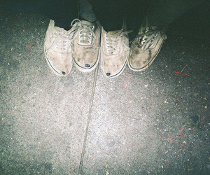 shoes, vans, and hipster image
