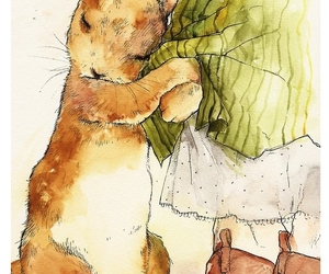 bunny, cute, and art image