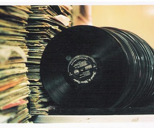 music, photography, and vinil image