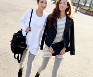 kfashion, ulzzang, and fashion image