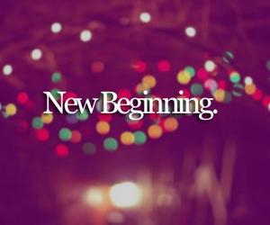 new, beginning, and life image