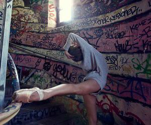 ballet, dance, and graffiti image