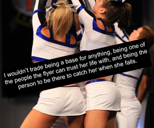 base, cheerleader, and quotes image