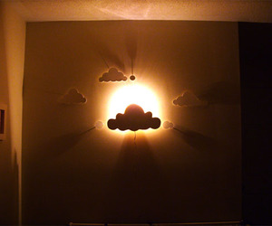 clouds and light image