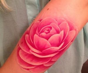 heart, tattoo, and no line tat image