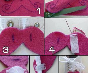 moustache, shoes, and diy image