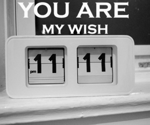 11:11, wish, and love image