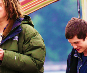 tyson, logan lerman, and percy jackson image