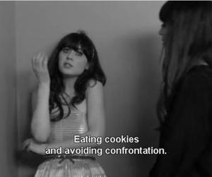 quotes, new girl, and Cookies image