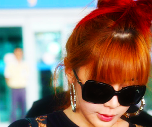 2ne1, kpop, and sunglasses image