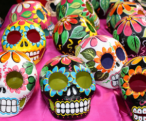 mexico and skull image
