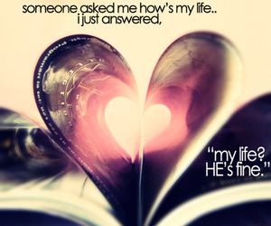 boyfriend, heart, and life image