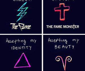 Lady gaga, the fame, and the fame monster image