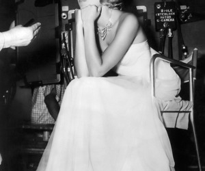 grace kelly, princess, and black and white image