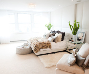 apartment, bedroom, and classy image