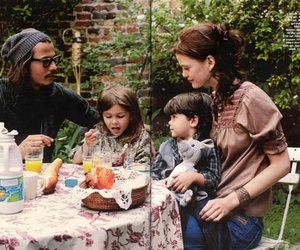 johnny depp and family image
