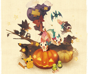 pokemon and Halloween image