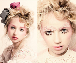 curls, mod, and doll image