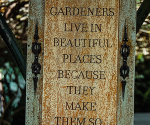 garden, nature, and quote image