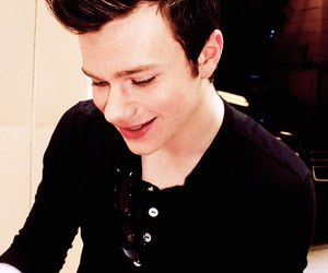 chris colfer, sweet smile, and perfect image