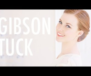 hairstyle, hair tutorial, and gibson tuck image