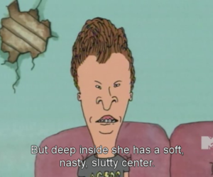 beavis and butthead and funny image