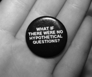 badge, black and white, and quote image
