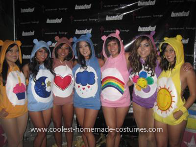 sc 1 st  We Heart It & Coolest GROOVAHOLIX Care Bear Group Costume 11