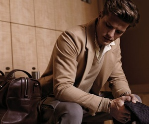 brown, classy, and fashion image