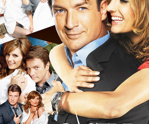 castle, kate beckett, and rick castle image