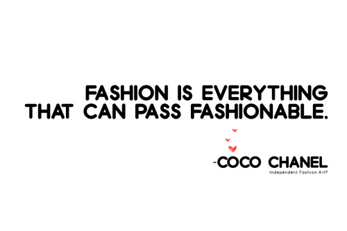 fashion quotes sayings famous inspiring coco chanel