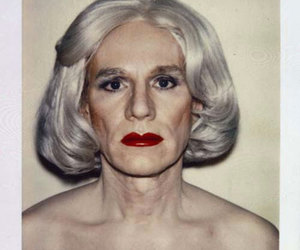 andy warhol and polaroide image