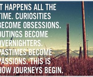 curiosity, happiness, and journey image