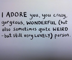 adore, quotes, and lovely image